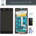 """5 """"polegadas lcd para sony xperia z1 l39h c6903 lcd screen display touch com quadro de substituição em +++ aaa grau"""