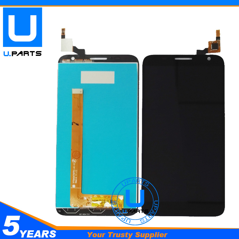 ORIGINAL For Alcatel Idol 2S OT6050 6050 6050Y 6050A 6050F LCD Display + Touch Screen Digitizer Complete Assembly Replacement