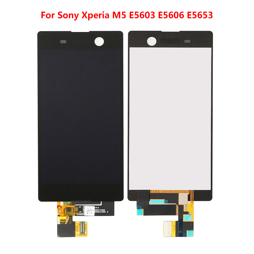 LCD Display For Sony Xperia M5 Digitizer Assembly Mobile Phone Replacement LCD Touch Screen For E5603 E5606 E5653 Without Frame