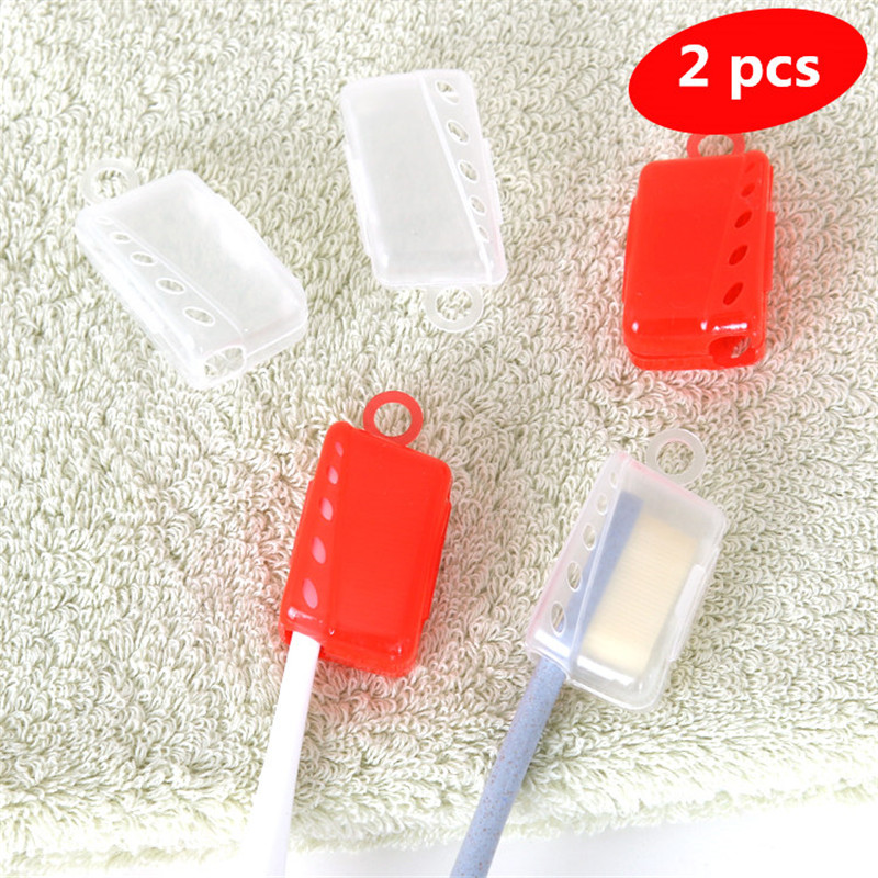 Toothbrush & Toothpaste Holders Brushing travel portable toothbrush caps storage rack anti bacteria dust protection dental kit image