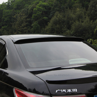 For Honda Accord 2008 to 2013 Black Roof Spoiler High Qulity ABS Plastic Rear Trunk Boot Wing Rear Lip Roof Spoiler Car Styling