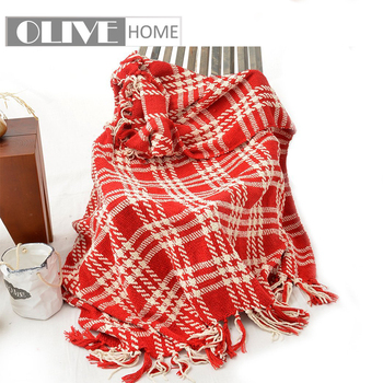 Battilo  Lively&Cheerful Plaid Throw Blanket 127x152cm plaid