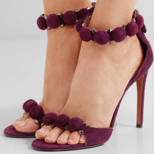 2017 Brand Women Pumps Sesy High Heels sandals Buckle Strap Women's Shoes Peep Toe High Heels Wedding Shoes Woman