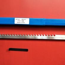 HSS 6mm C1 Push-Type Keyway Broach Metric Size HSS Keyway + Shim Cutting Tool for CNC