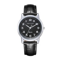 New 2014 Fashion Anticlockwise Watches Time Story FlyBack Men Wristwatches Vintage Quartz Counterclockwise Watch Leather Strap