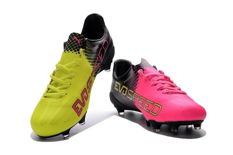 2018 Puma Men's evoSPEED SL Tricks H2H FG Soccer Cleats Sneakers Lovers Sports Shoes SIZE EUR39-45 цены онлайн