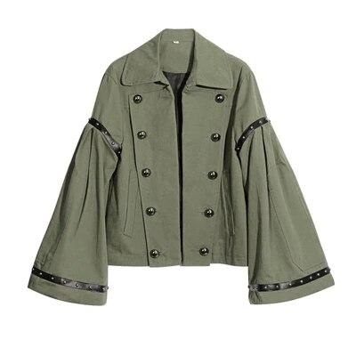 Autumn short   jackets   and coats 2017 spring female coat casual military olive green bomber   jacket   women   basic     jackets   plus size