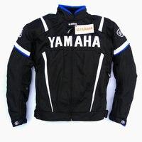 Summer mesh Motorcycle jackets Moto Racing Windproof Jackets fit for Yamaha motor With 5pcs Protector Men Jacket Chaqueta Blue