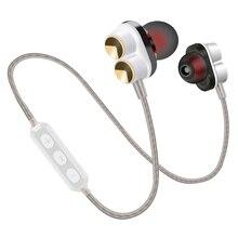 Aipal Беспроводной CSR Bluetooth V4.1 наушники Магнитный HIFI стерео Super Bass Наушники Бег Спорт с микрофоном для IOS Android