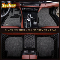 Car Non slip cover floor mats fit for BMW 4 5 Serive F36 F33 F32 GT F18 F10 E60 E39 2008 2017 car floor foot carpet liners mats