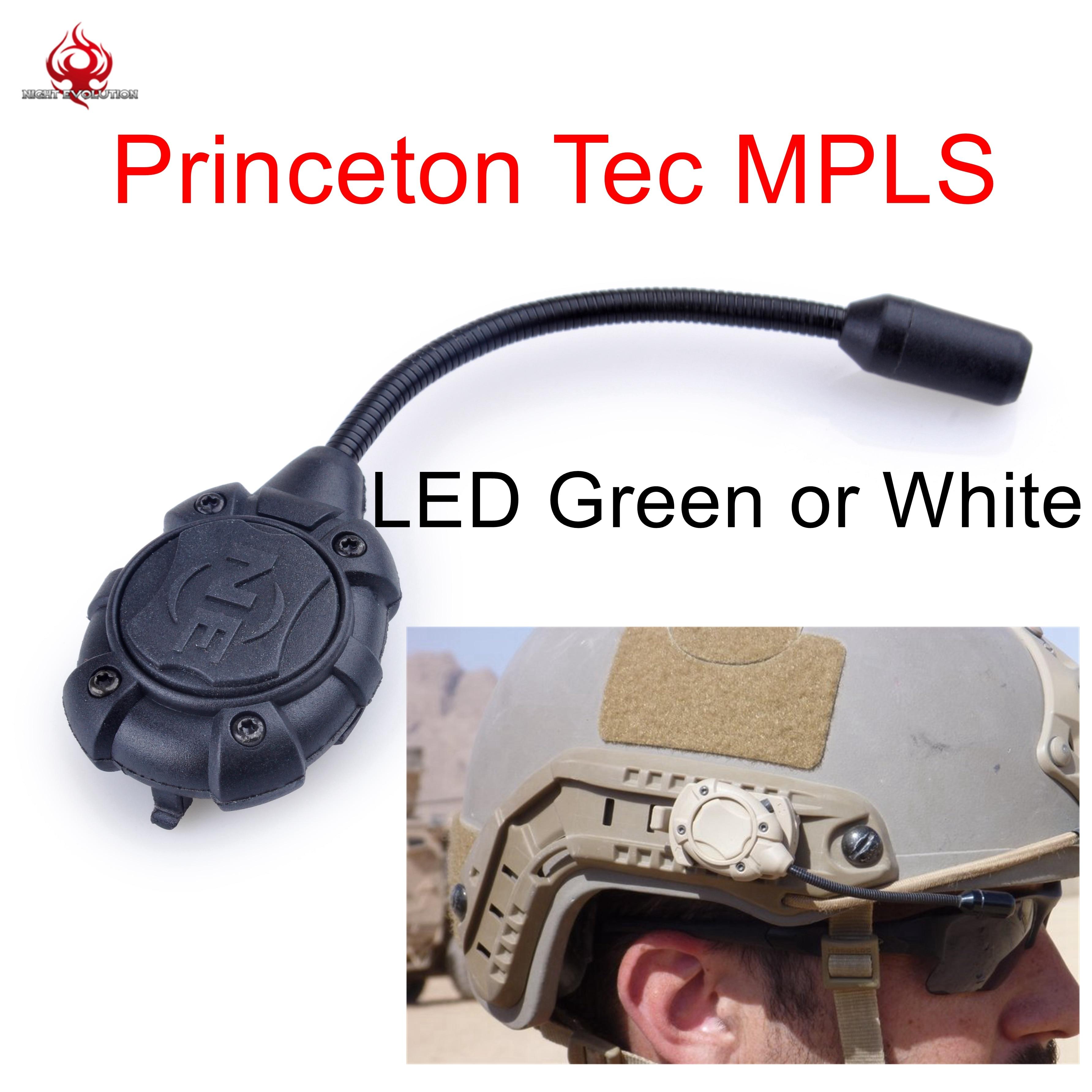 Night Evolution Princeton Tec MPLS Helmet Light Modular w Molle Mount Military Combat Outdoor Flashlight NE
