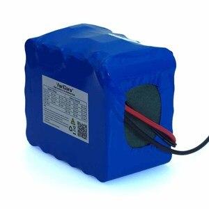 Image 2 - Batería de litio de 24V, 10Ah, 6S5P, 18650 V, 25,2 mAh, bicicleta eléctrica, ciclomotor, paquete de batería de iones de litio + cargador de 1A