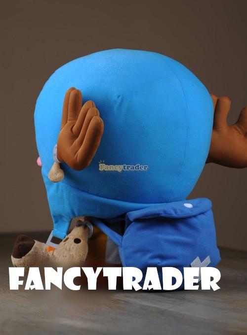 Fancytrader 16\'\' 40cm Copyrighted  Plush Stuffed Tony Tony Chopper with schoolbag & Towel FT90425 (2)