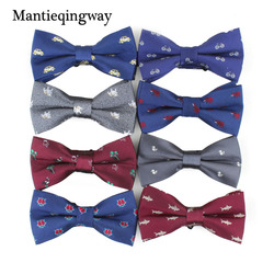 Mantieqingway Bowties Men Formal Tiger Fruit Printing Necktie Men's Fashion Business Wedding Bow Tie Male Dress Shirt Bowties 1