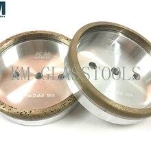 Алмазные чашки колеса 150xd-8x8mm для стекла прямой линии окантовки, двойной окантовки машины. S1-CC2