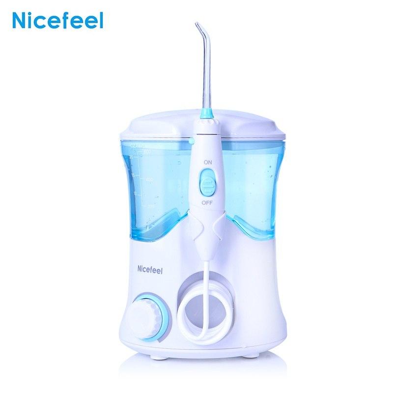 600 ml eau dentaire Flosser Oral DentJet multifonctionnel irrigateur Kit de soins dentaires dents nettoyant eau Pick avec 7 buses
