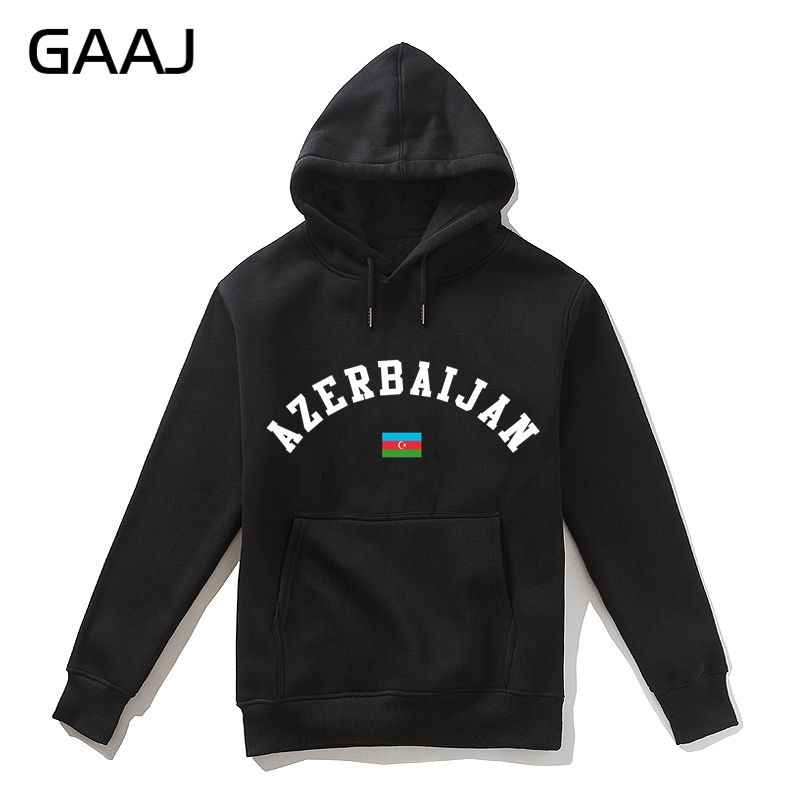 Azerbaijan Flag Men Hoodies WomenSkateboards Brand Clothing Azerbaycan Printing Felpe Jacket Hoodie Sweatshirt Casual Man 2019