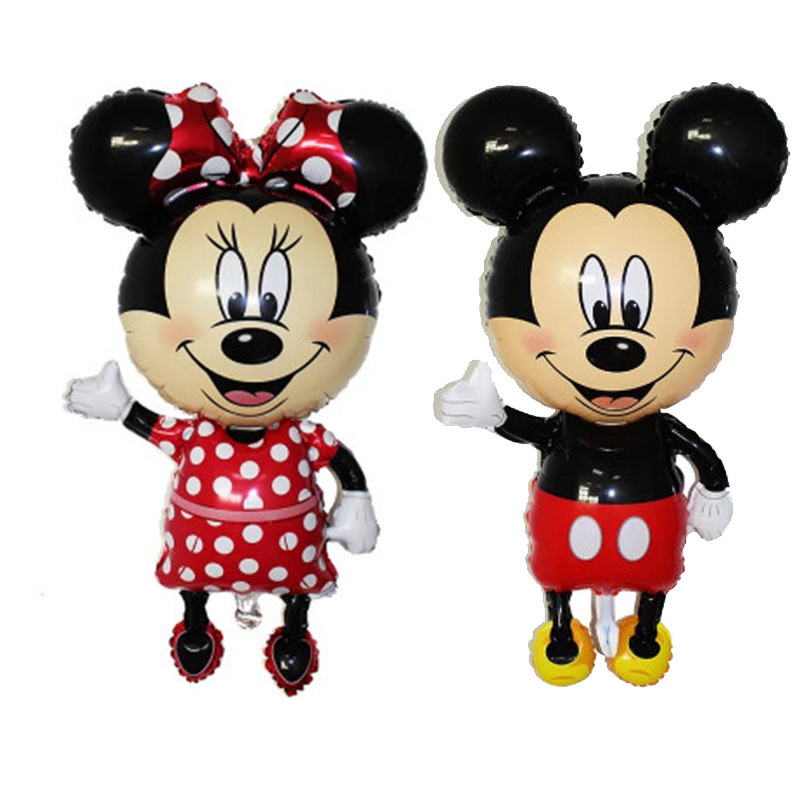 Large stand Mickey  Minnie Foil Balloons Classic Toys inflatable helium balloon