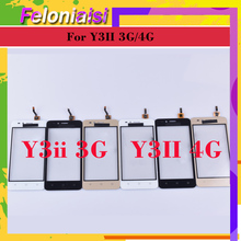 10Pcs/lot For Huawei Y3ii Y3 II 2 LUA-U23 LUA-L03 LUA-U22 LUA-L23 Touch Screen Panel Sensor Digitizer Front Glass