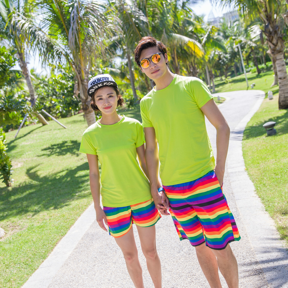 Couple Swimwear   Board     Shorts   Women & Mens Surf Swimming   Shorts   Swim Trunks Beach Sports Suit Quick Dry   Short