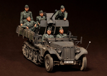 1 35 Crew for Sd Kfz 104 fur 2cm FlaK 30 include 6 soldiers not include