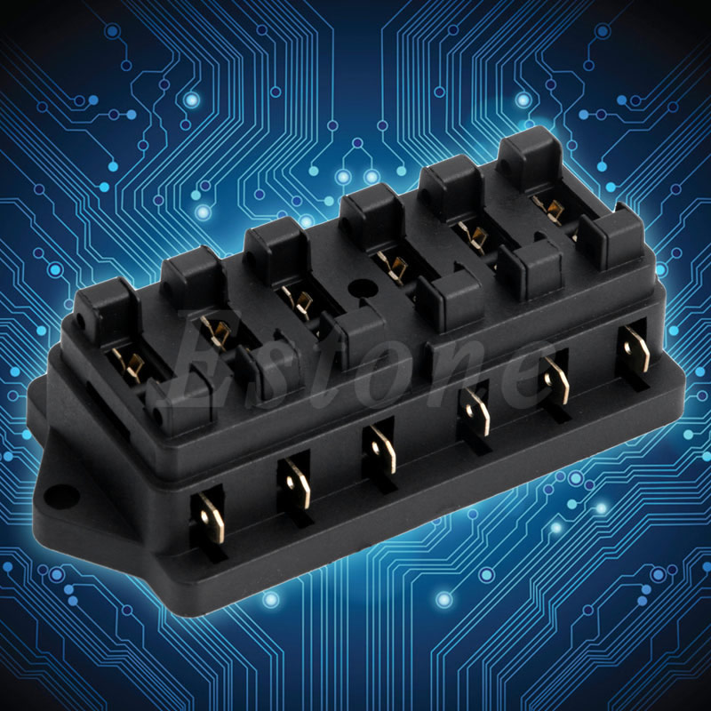 online buy whole fuse block automotive from fuse block car fuse boxes circuit standard car 6 way ato automotive blade standard fuse box block holder
