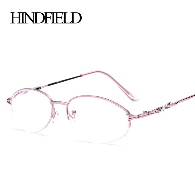 0d683a5d99 HINDFIELD 2016 Alloy pink reading glasses Women Prescription lenses  +100,+200,+300,+400. 5Pcs/Lot GD8828-in Reading Glasses from Women's  Clothing & ...