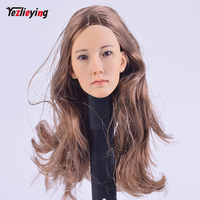 TopToys 1/6 Scale Accessories Head Sculpt Female Model KUMIK 008 Korean Hot Sideshow 12 Phicen HTTOYS Body Action Figure Doll