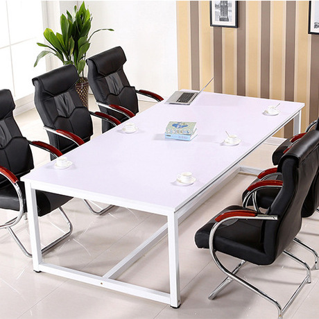 Conference Table Office Furniture Commercial Furniture Modern Panel+steel  Office Desk Wholesale Can Customize Size 2017 Hot New On Aliexpress.com |  Alibaba ...
