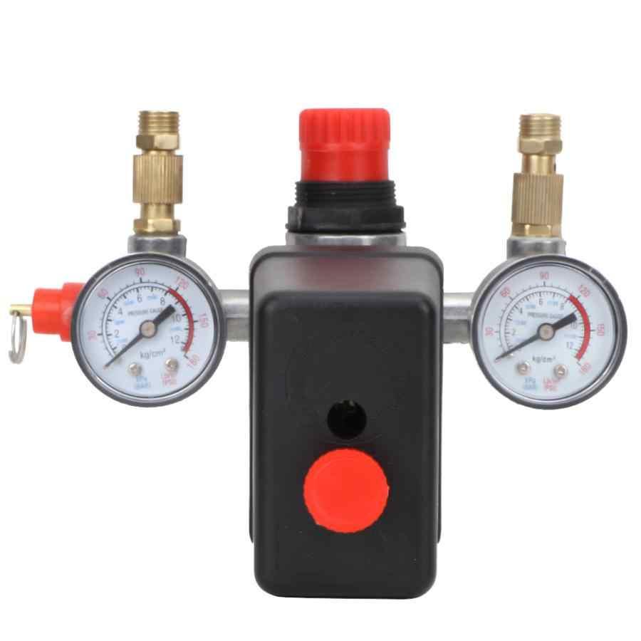 Automatyczne ciśnienie zawór zespół przełącznika do pojedynczego otworu sprężarki powietrza 90 ~ 120psi 220V
