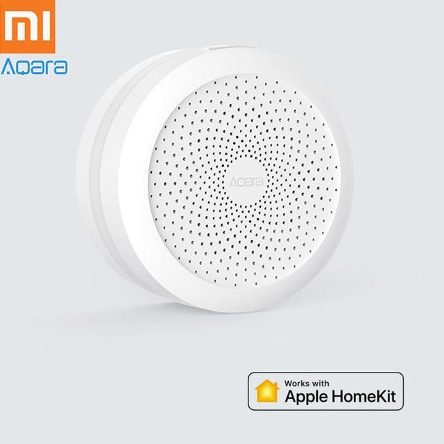 US $36 99 20% OFF Xiaomi Aqara Smart Gateway Hub Door Window Sensor Human  Body Wireless Switch Humidity Water Sensor For Apple Homekit H20-in Smart