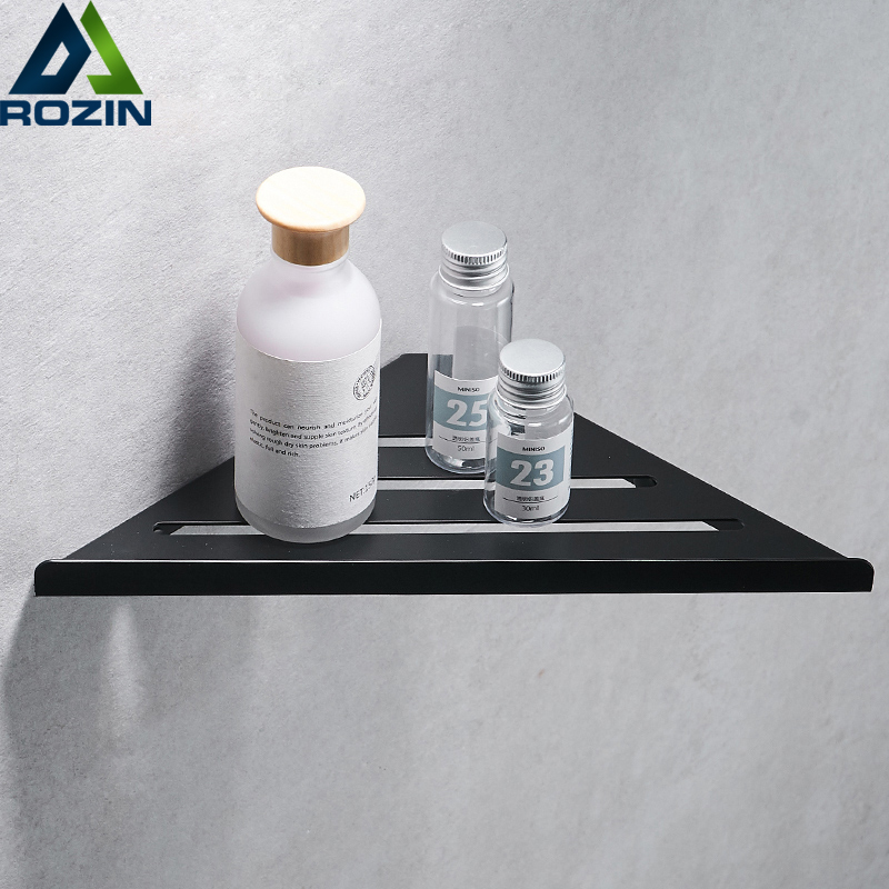 304 Stainless Steel Bathroom Shelves Brushed Nickel Wall Bathroom ...