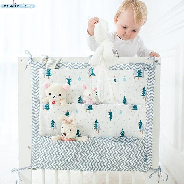 Aliexpress Com Musselin Baum Bett Hangen Lagerung Tasche Babybett