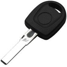 10 шт./лот Крышка Ключа Автомобиля Пустой Оболочки Случае Стиль Для Volkswagen (VW) B5 Passat Транспондера Ключевых (HU66) + с Логотипом Свободная Перевозка Груза