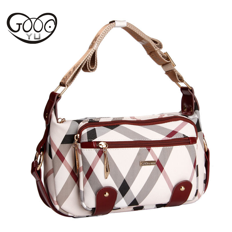 Europe and the United States fashion glial fiber PVC dumplings pillow bag retro print geometric pattern classic wild shoulder ba ...