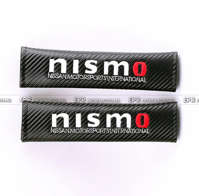 Carbon seat belt cover nismo_1_1