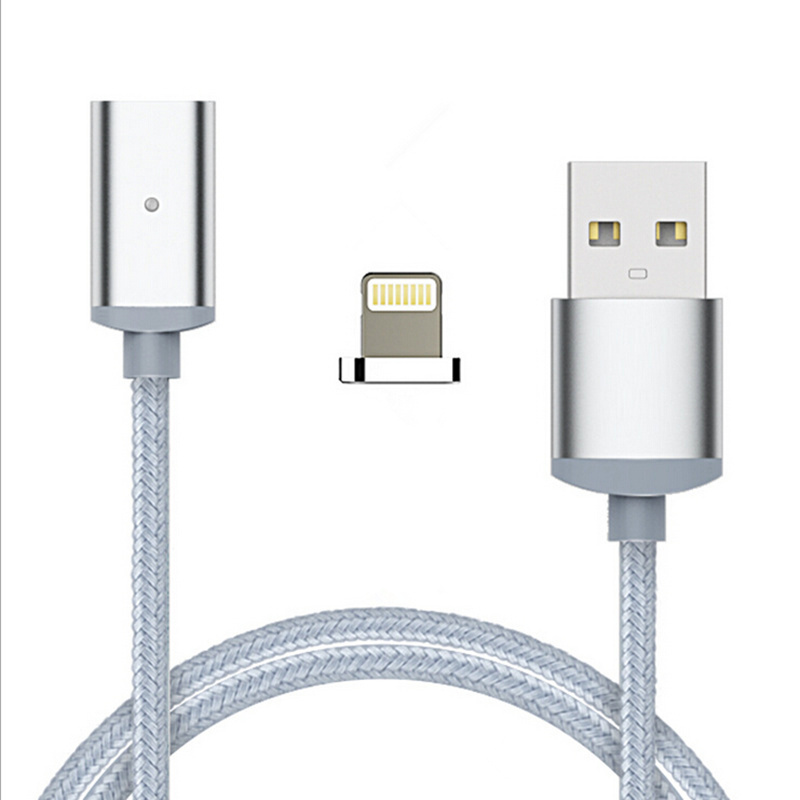 ... Nylon Magnetic Data Cable For Lightning u0026 Micro USB Type-C Adapter Fast Charging Both ...  sc 1 st  housewaredelight.com & Nylon Magnetic Data Cable For Lightning u0026 Micro USB Type-C Adapter ...