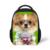 Lindo Bulldog Perro Pug Imprimir Niños Pequeños Mochilas para Bebés Niñas niños Niños Bolsas Escuela Kindergarten Niños Hombro Bolsa de Libros