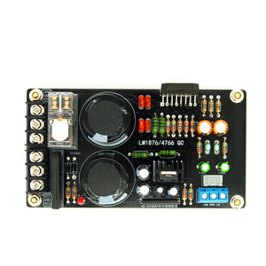 Image 2 - LM1876 60W Digital Amplifier Audio Board Dual Channel Amplifier Board for 4 8 ohm Speaker DIY/Finished Board B9 006