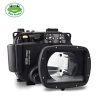 Diving Underwater 40m For Sony NEX5R 5T 18 55mm Camera Waterproof Housing Case Water Sport Surfing Scuba Diving Camera Cover Bax