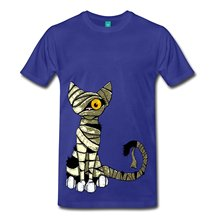 2017 fashion hot sell Mummy Cat Kitten Men's Premium T-Shirt 100% cotton O-Neck T Shirt Casual short tops tee