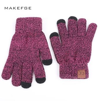High Quality Knit Man's Velvet Thicken Glove