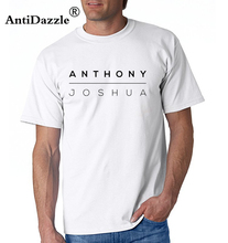 e524cae6d5d18 Buy anthony joshua t shirt men and get free shipping on AliExpress.com