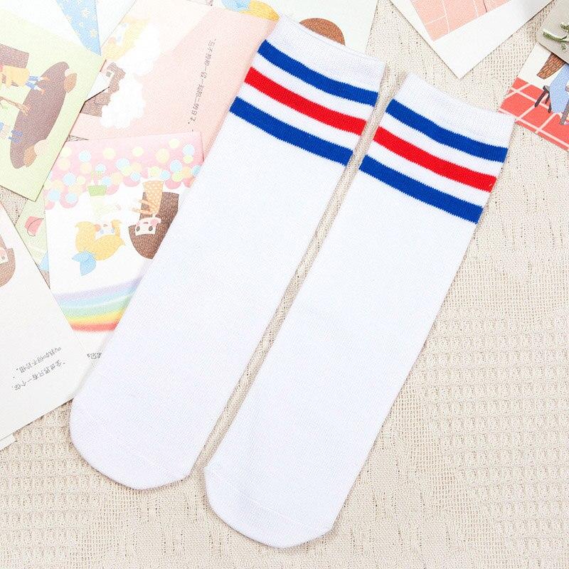 Kids-Knee-High-Socks-for-Girls-Boys-Football-Stripes-Cotton-Sports-Old-School-White-Socks-Skate-Children-Baby-Long-Tube-Leg-Warm-4