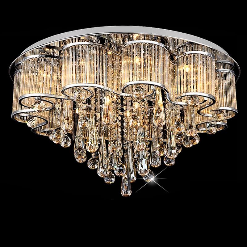 Free Shipping Modern Led Ceiling Lights Ceiling Lamp Flush Mount Crystal Light 90-265V