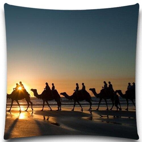 ヾ(^▽^)ノCrepúsculo camello desierto Toro cuadrado 45*45 cm