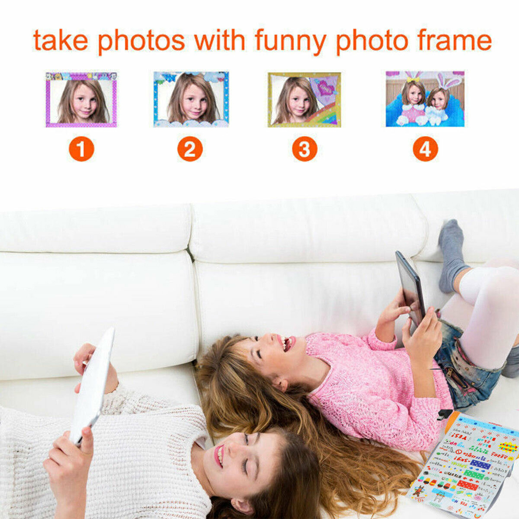 Automatic Children Kids Digital Camera Cam Recorder Photo Xmas Gift For Kid