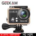 GEEKAM Экшн-камера H2R/H2 ультратонкий HD 4 K/25fps WiFi 2,0