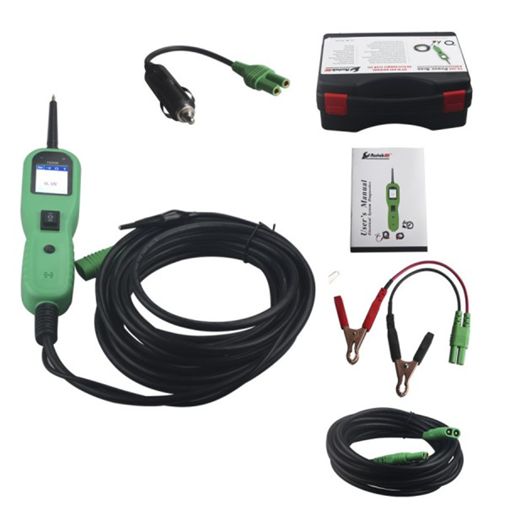 Best Price YD208 Electrical System Circuit Tester Including Power Injection Measurement Ground Testing Polarity Checks kamaljit singh bhatia and harsimrat kaur bhatia vibrations measurement using dsp system