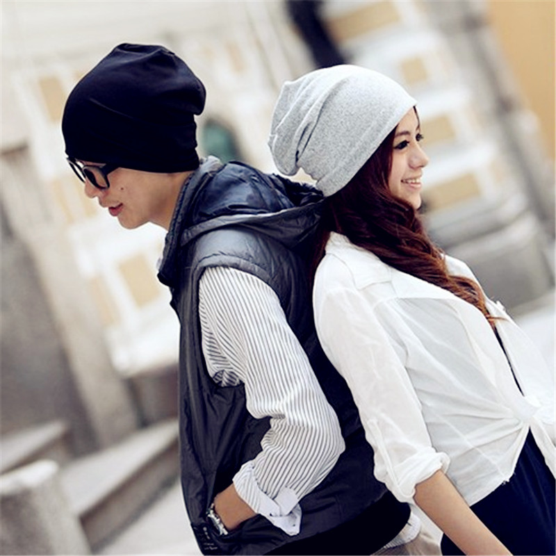 Women Men Unisex Knitted Spring Cap Casual Beanie Gril\'s Sport Hats ...